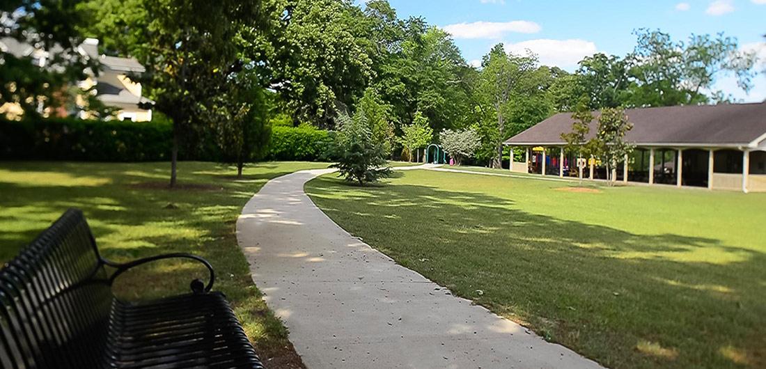 Pittard Park Pathway