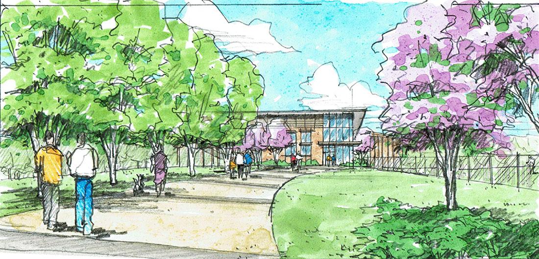 Clemson Wellness Center Promenade